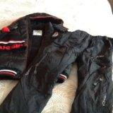 Куртка зима,штаны болоневые и шапка 6-8 лет. Фото 2. Тюмень.