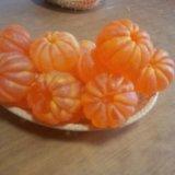 Ароматное мыло ручной работы *мандарин*. Фото 1.