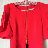 Красное женское платье. Фото 2. Мытищи.