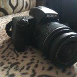 Зеркальный фотоаппарат sony slt-a37. Фото 1.