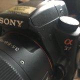 Зеркальный фотоаппарат sony slt-a37. Фото 2.