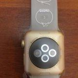 Часы apple watch 2 38mm gold. Фото 2.