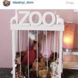 Детский уголок для игрушек. Фото 1.