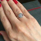 Кольцо и серьги серебро. Фото 2.