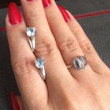 Кольцо и серьги серебро. Фото 3.