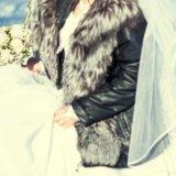 Чернобурка!!!!куртка -жилетка(трансформер). Фото 2. Иркутск.