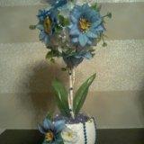 Топиарий цветочный. Фото 1. Новосибирск.