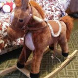 Лошадь качалка. Фото 1.