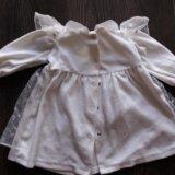Платье нарядное для малышки, размер 68/74. Фото 2.