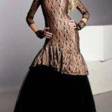 Платье со стразами swarovski. Фото 1.