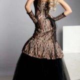 Платье со стразами swarovski. Фото 2.