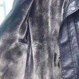 Куртка коженная. Фото 2. Красноярск.