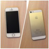 Iphone 5s 16gb gold. Фото 1.