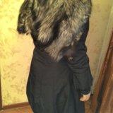 Пальто с чернобуркой. Фото 3. Москва.