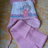 Шапка+шарф. польша. Фото 1. Москва.