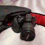 Зеркальный фотоаппарат sony a-65. Фото 1.