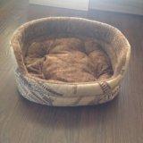 Лежанка для собаки или кошки. Фото 1.