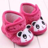 Пинетки-ботинки малиновые, панда - новые!. Фото 3.