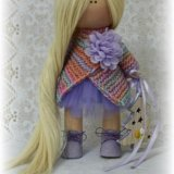 Текстильная куколка. ручная работа. Фото 3. Челябинск.