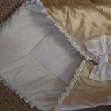 Конверт-одеяло на выписку. Фото 1.