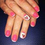 Маникюр, покрытие ногтей гель-лаком. Фото 4. Солнечногорск.