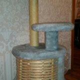 Кошкин домик с когтеточкой. Фото 1. Кемерово.