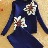 Костюм свитер+юбка. Фото 1. Иваново.