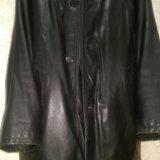 Кензо, оригинал !зимняя кожаная куртка на меху. Фото 4. Москва.