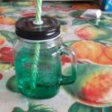 Банка для напитков mason jar. Фото 2. Иркутск.