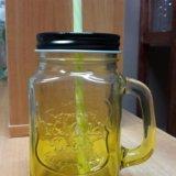 Банка для напитков mason jar. Фото 3. Иркутск.