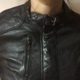 Новая кожаная куртка женская 46-48. Фото 4. Москва.