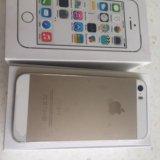 Iphone 5s gold 16gb. Фото 1.