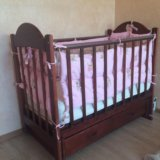 Детская кроватка. Фото 4. Комсомольск-на-Амуре.