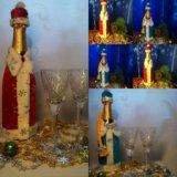 Праздничный чехол на шампанское. Фото 3. Новозыбков.