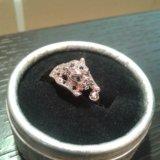 Кольцо пантера с кристаллами. Фото 1. Москва.