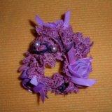 Новая резинка с розами и бисером. Фото 3. Омск.