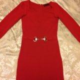Элегантное красное платье love republic. Фото 2.
