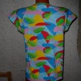 Яркая футболка качественный трикотаж. Фото 4.