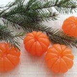 Новогодние мыльные мандаринки. Фото 3.