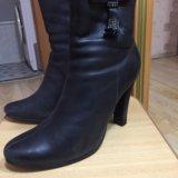 Зимние ботинки натуральная кожа. Фото 3. Уфа.