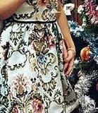 Красивое платье с вышивкой. Фото 3.