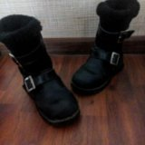 Зимние детские сапожки. Фото 2.