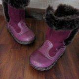 Зимние детские сапожки. Фото 4.