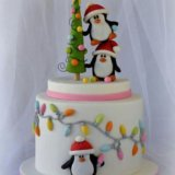 Торт на заказ.новогодние четвертинки.. Фото 3.
