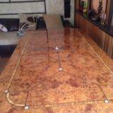 Новый стол обеденный со стульями. Фото 2.