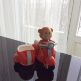 Elc toy box обезьянка и мотоцикл. Фото 1. Москва.