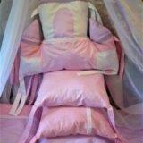 Комплект в кроватку новый 7 предметов. Фото 1.