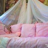 Комплект в кроватку новый 7 предметов. Фото 2.