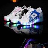Светящиеся кроссовки с роликом. Фото 3. Краснодар.