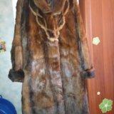 Шуба из сурка (степная норка). Фото 1. Москва.
